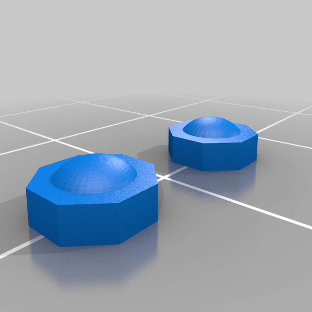 hub_caps.png Télécharger fichier STL gratuit Orc / ork Zapper / Zzzap gun 28mm wargames • Design pour impression 3D, redstarkits