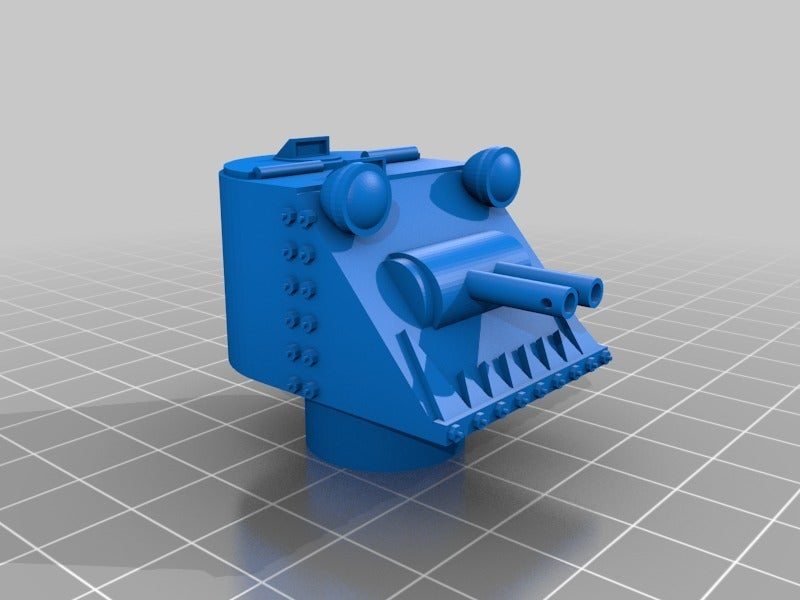 b8ad077f06a5261484ad2efb021648e0.png Download free STL file Ork / Orc armoured Light attack vehicle / War Buggy • 3D printing object, redstarkits