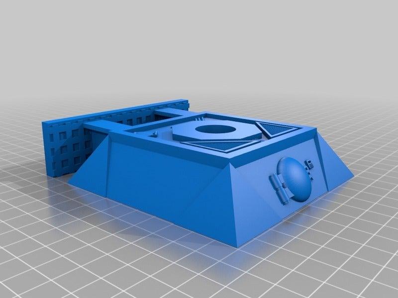 1b6e6e8027a3247b1668dc935b14c444.png Download free STL file Heavy Mortar turret for 28mm wargames. Warhammer, warpath ect • 3D print object, redstarkits