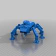 Télécharger modèle 3D gratuit Coque et mentonnière alternatives pour le transport de troupes à pied de science-fiction WAPC Ant pour les wargames de science-fiction 28mm ou la fabrication de mdel de science-fiction, redstarkits