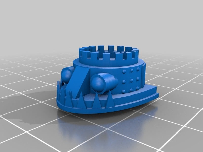 b01a29a6bf0ff9fd2bb8b95dd10a6104.png Download free STL file Extra Weapons and Heads for the Great Gargant proxy in epic scale • 3D printable object, redstarkits