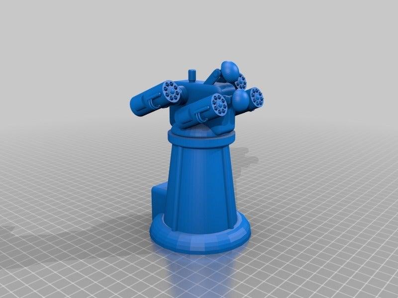 810b0e1685d62c00e04801bbb60b272d.png Download free STL file Anti-aircraft tower for 28mm wargames, Warhammer, Star wars, Gas lands ect • 3D print model, redstarkits
