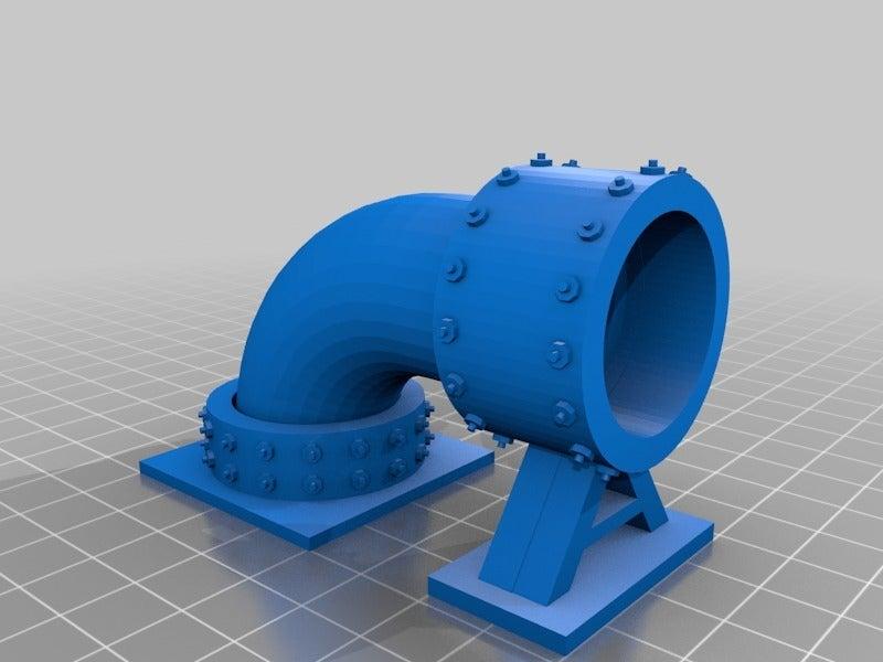 48deb98689da668c9b145c4c17e410f1.png Télécharger fichier STL gratuit Sci-fi Réseau de tuyaux modulaire pour les paysages de wargaming • Objet à imprimer en 3D, redstarkits