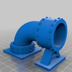 48deb98689da668c9b145c4c17e410f1.png Download free STL file Sci-fi Modular pipe network for wargaming scenery • 3D printable design, redstarkits