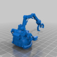 Download free 3D printer designs Mekboy Gargant proxy for 6mm Epic scale warhammer 40,000 / Titan legions, redstarkits