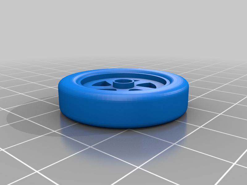 wheel_with_tire.png Télécharger fichier STL gratuit Orc / ork Zapper / Zzzap gun 28mm wargames • Design pour impression 3D, redstarkits