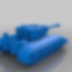 Télécharger fichier 3D gratuit Char blindé Orque / Ork avec canon à long canon, redstarkits