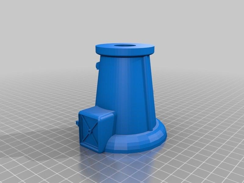 6577898142eeebb619ffc8446473b9a7.png Download free STL file Anti-aircraft tower for 28mm wargames, Warhammer, Star wars, Gas lands ect • 3D print model, redstarkits