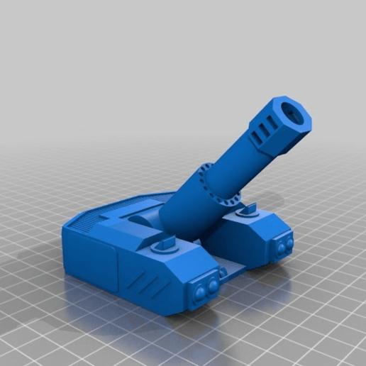 cd8531fe4e48dfa7db2d31dd949abc61.png Download free STL file Heavy Mortar turret for 28mm wargames. Warhammer, warpath ect • 3D print object, redstarkits