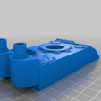 Download free 3D printer designs Orc / Ork Armoured Tank with long barrel Cannon, redstarkits