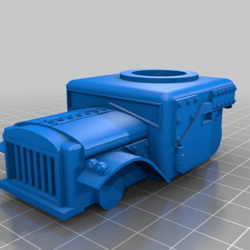 c34b709cc64aea531432c4ff865eeb2c.png Download free STL file Ork / Orc armoured Light attack vehicle / War Buggy • 3D printing object, redstarkits