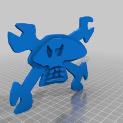 Télécharger fichier imprimante 3D gratuit logo Guy Martin, josezalseva
