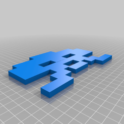 Download free 3D printing templates invasor space, josezalseva