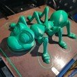 Download STL file Cute Flexi Print-in-Place Ant • 3D printing design, 3DFans