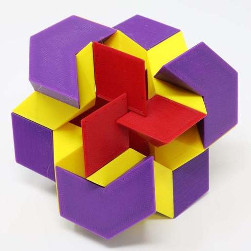 Download free 3D print files Rosebud Puzzle, gibell