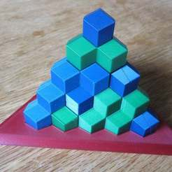 Download free 3D printer model Giant Pyramid (RD version), gibell
