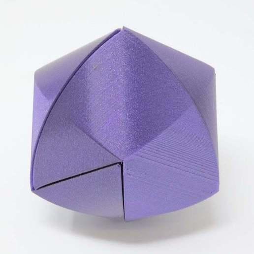 Download free 3D printer model Rose Tricylinder Puzzle, gibell