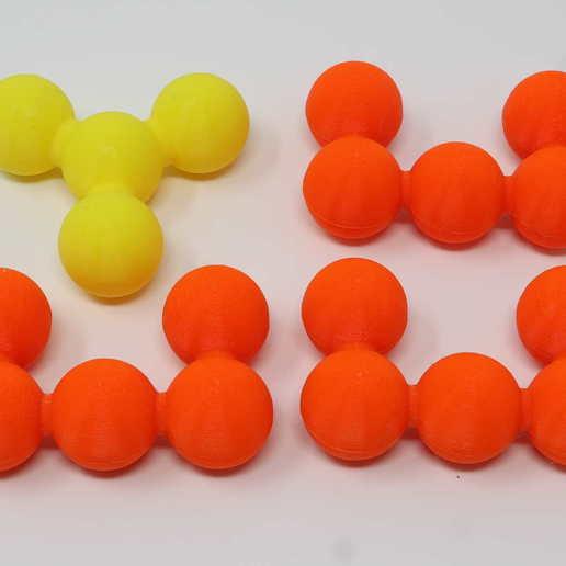 Download 3D printer files Y-U Octahedron Puzzle, gibell