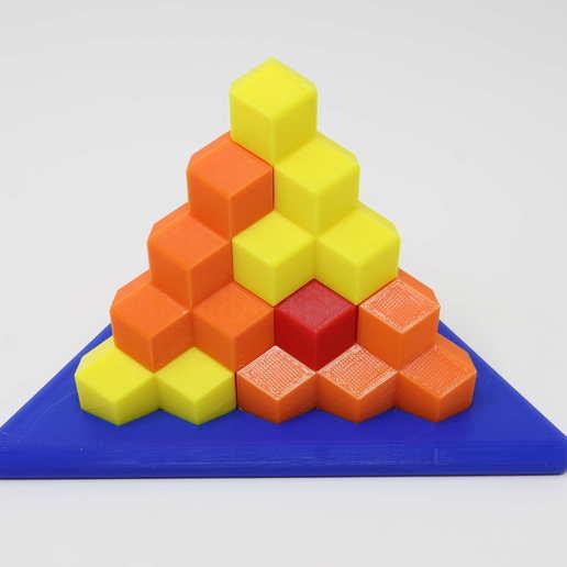 Download free 3D printer files Tetrahedron Building Blocks, gibell