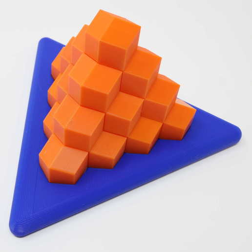 Download free 3D printer templates Perplexing Pyramid (RD version), gibell
