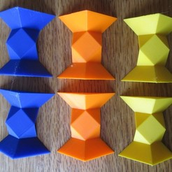 Download free 3D printer model Coordinate-motion cube puzzle, gibell