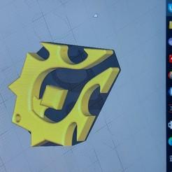 20200923_135638.jpg Download STL file Wow Horde logo pendant • 3D print template, kobra112358