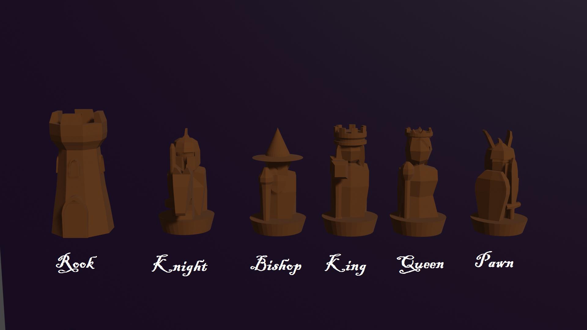 Chess Set.png Télécharger fichier STL gratuit Pièces d'échecs humaines personnalisées de fantaisie • Design pour imprimante 3D, virgilius1995