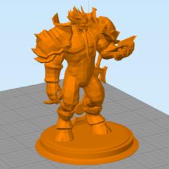 Download free 3D printer templates Draenei Paladin, hertelandrey