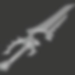 Download free 3D print files Varian Wrynn's Sword, hertelandrey