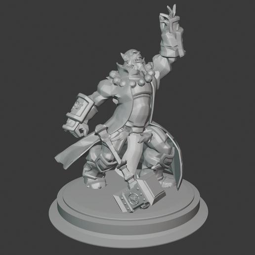 Download free 3D printer designs World of Warcraft - Thrall, hertelandrey