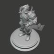 Télécharger fichier STL gratuit Paladin humain • Plan à imprimer en 3D, hertelandrey
