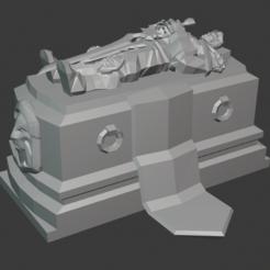 Download free 3D printer designs Varian Wrynn's Altar, hertelandrey