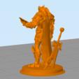 Télécharger objet 3D gratuit Statue elfe de sang Paladin, hertelandrey