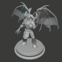 illidan.PNG Download free STL file Illidan Stormrage • 3D printer model, hertelandrey