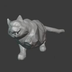 Download free 3D model Cat Playing, hertelandrey