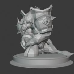 Download free 3D printing models Tauren Paladin, hertelandrey