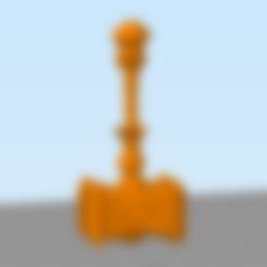 Télécharger fichier STL gratuit Le marteau-piqueur de Thrall • Plan pour impression 3D, hertelandrey