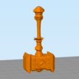 doom.PNG Download free STL file Thrall's Doomhammer • Template to 3D print, hertelandrey