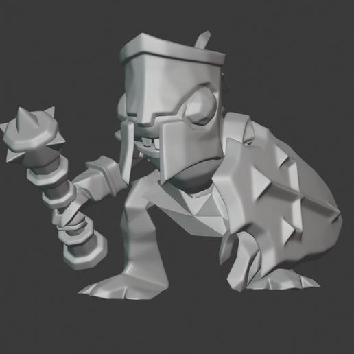 Descargar modelo 3D gratis Murloc Paladín, hertelandrey