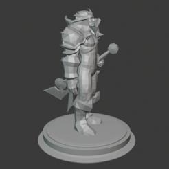 Download free 3D printer model Human Paladin, hertelandrey