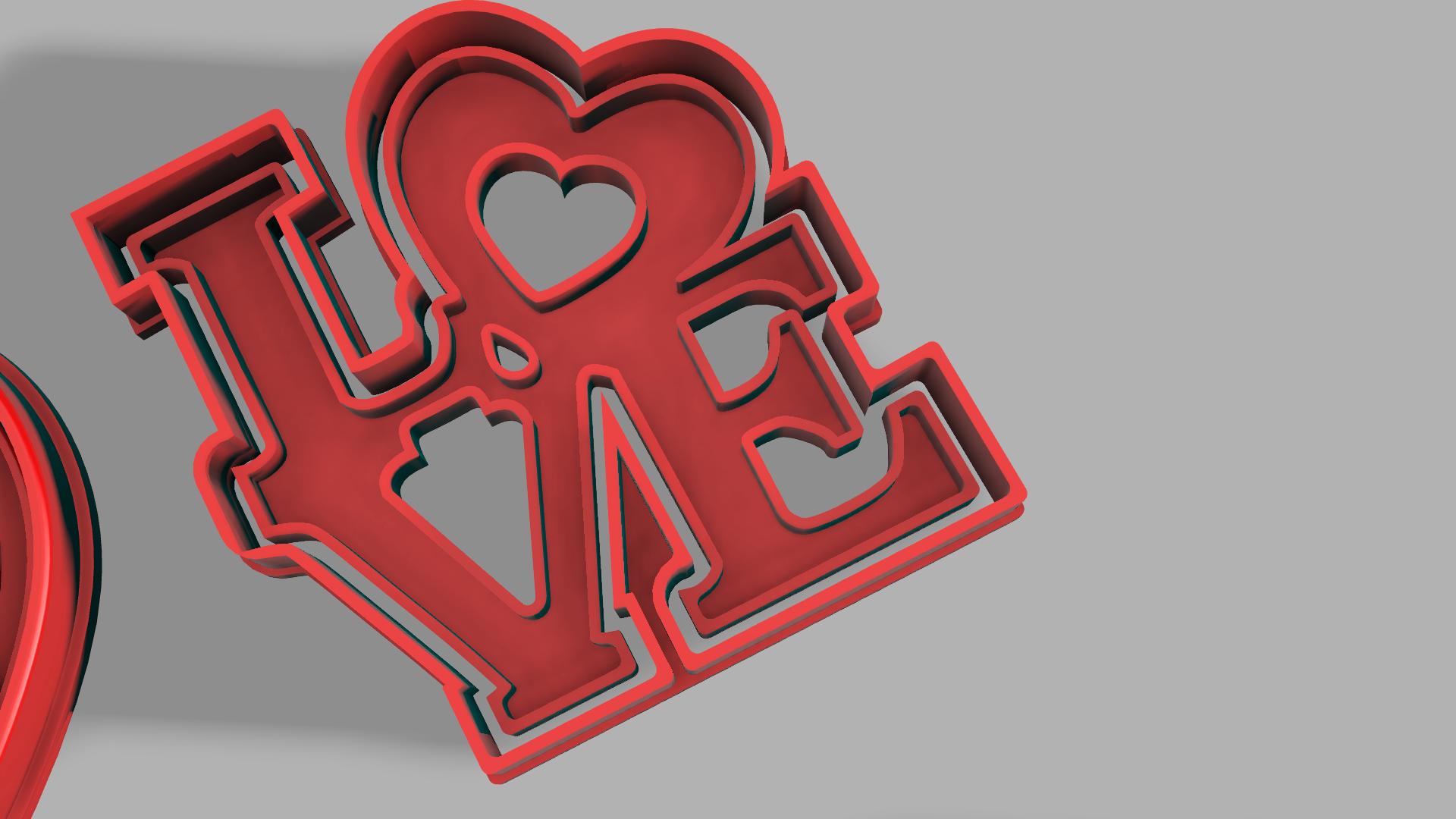Download Free Stl File Love Cutter Design To 3d Print Cults