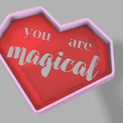 Descargar archivos 3D gratis Heart and Stencil, pc3dtepic