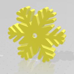 Descargar modelo 3D gratis Cortador de galletas SnowFlake, Yanakieff