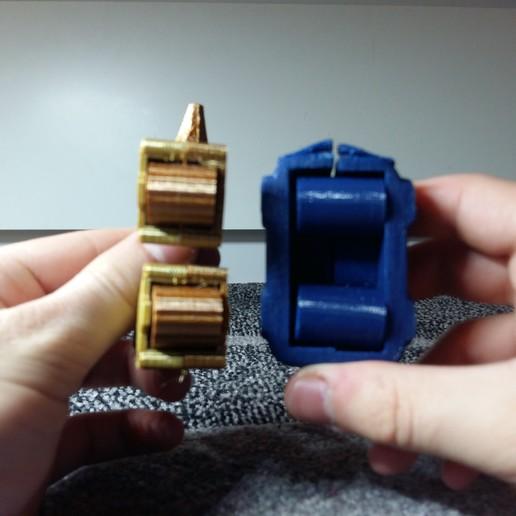picture (8).jpg Télécharger fichier STL gratuit Cerf robot contrôlé par les doigts • Objet pour impression 3D, Janis_Bruchwalski