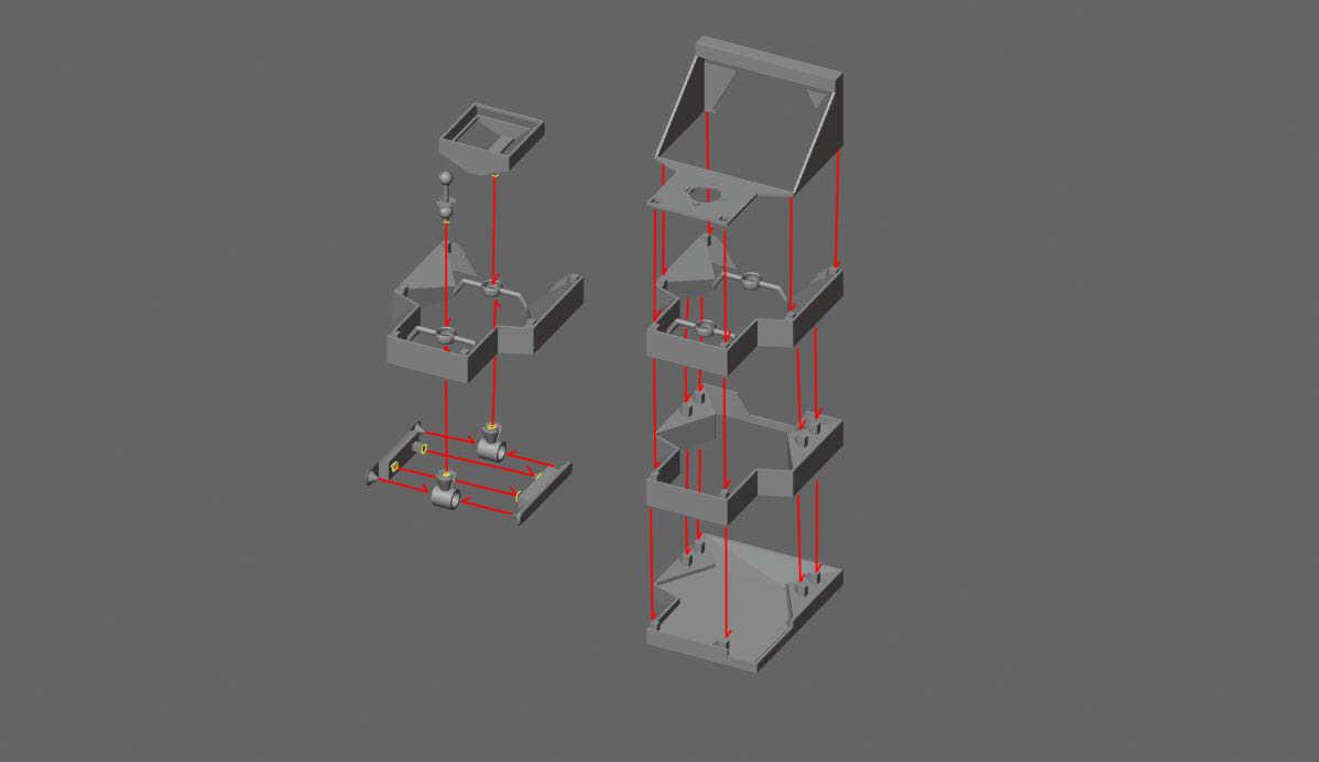 Assembly.JPG Download free STL file MARBLE BOY automat • 3D printer object, Janis_Bruchwalski