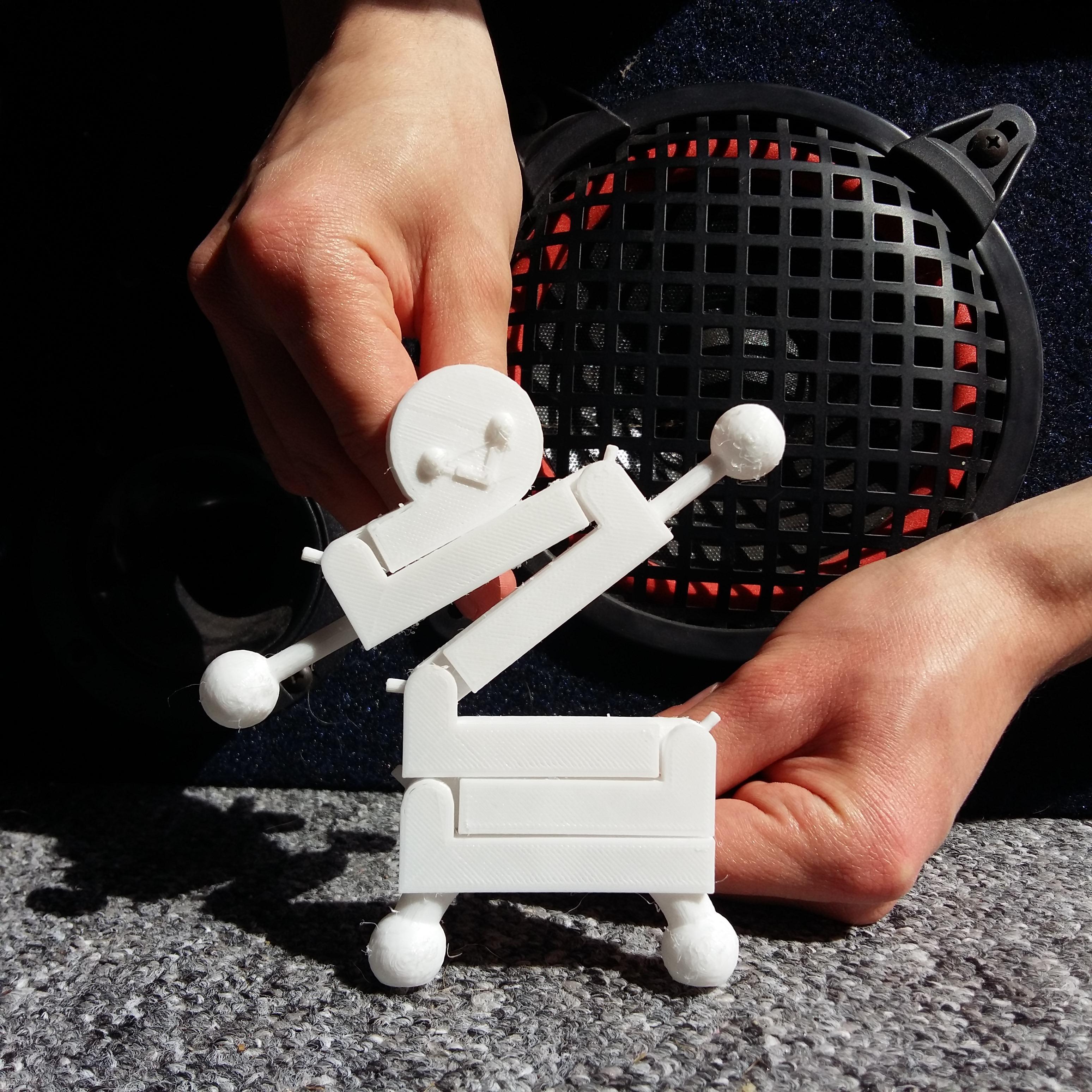 picture (6).jpg Download free STL file Dance Man • 3D printer template, Janis_Bruchwalski