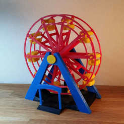 picture (9).jpg Download STL file Ferris wheel • Model to 3D print, Janis_Bruchwalski