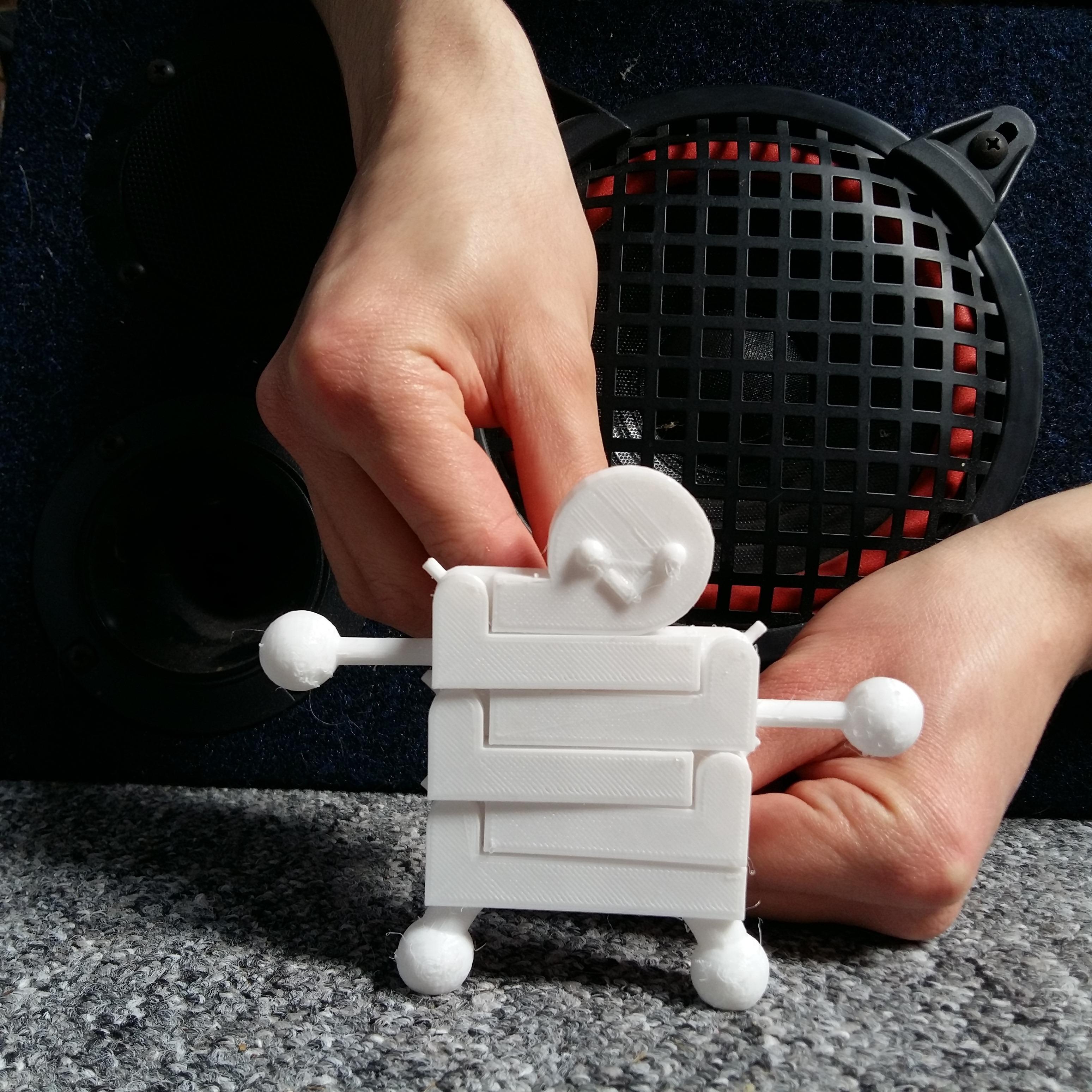 picture (2).jpg Download free STL file Dance Man • 3D printer template, Janis_Bruchwalski