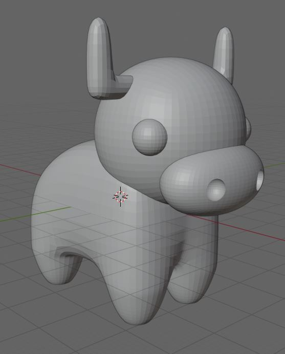 Cow 6.JPG Télécharger fichier STL gratuit Vache • Design à imprimer en 3D, Janis_Bruchwalski