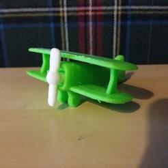 Télécharger plan imprimante 3D gatuit Jouet Avion, JanisBruchwalski